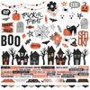 "Happy Haunting Cardstock Stickers 12""X12"""