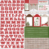 "Very Merry Christmas - Cardstock Stickers 12""x12"""