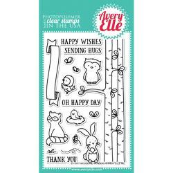 Woodland Wonders Clear Stamps - 1