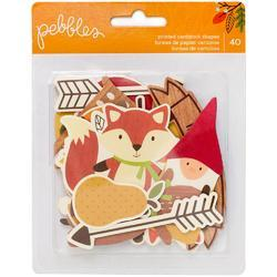 Woodland Forest Ephemera Die-Cuts 40/Pkg