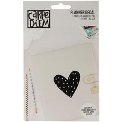 Carpe Diem Small Planner Decal HEART - 1
