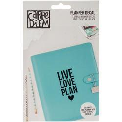 Carpe Diem Small Planner Decal LIVE LOVE PLAN - 1