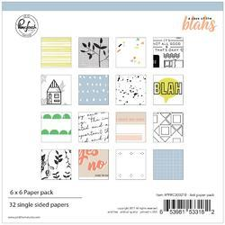 """Case Of The Blahs Single-Sided Paper Pack 6""""X6"""" 32/Pkg"""