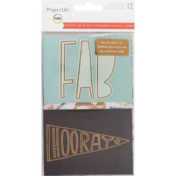 Project 52 Rad Project Life Specialty Foil Card Pack 12 pkg - 1