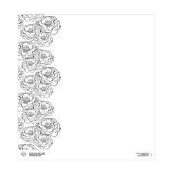 Jaro papír 12×12 - Kytky