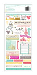5th & Frolic - Accents & Phrases 6x12 Stickers - Dear Lizzy