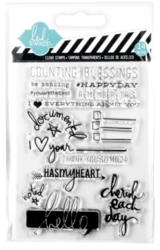 Cherish clear stamps Project Life®
