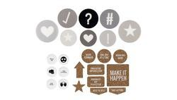 Ali Edwards One Little Word® 2019 Dimensional Die Cut Bundle - 1