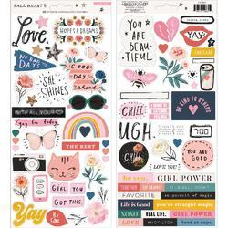 All Heart Cardstock Stickers 80/Pkg - 1