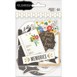 Along The Way Ephemera Cardstock Die-Cuts 40/Pk - 1