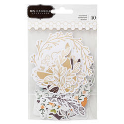 Along The Way Ephemera Icons Cardstock Die-Cuts 40/Pk - 1