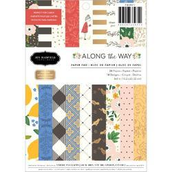 "Along The Way Single-Sided Paper Pad 6""X8"" 24/Pkg"