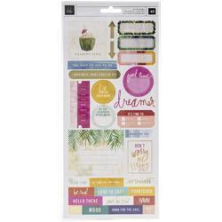 Art Walk Cardstock Stickers 43/Pkg - 1