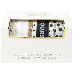 Bold Life, Be You Washi Tape Tube 6/Pkg - 1