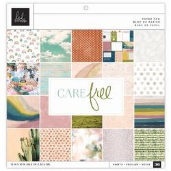 "Care Free Single-Sided Paper Pad 12""X12"" 36/Pkg - 1"