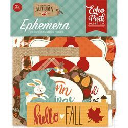Celebrate Autumn Cardstock Icons Die-Cuts 33/Pkg - 1