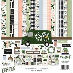 """Coffee & Friends Collection Kit 12""""X12"""""""