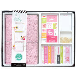 Color Fresh Personal Memory Pink Glitter Planner Boxed Kit - 1