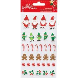 Cozy & Bright Puffy Stickers 34/Pkg