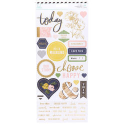 Emerson Lane Cardstock Stickers 61/Pkg - 1