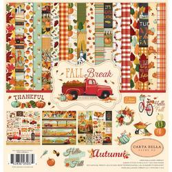 "Fall Break Collection Kit 12""X12"""
