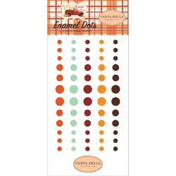 Fall Break Enamel Dots 60/Pkg