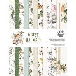 "Forest Tea Party Double-Sided Paper Pad 6""X8"" 24/Pkg - 1"