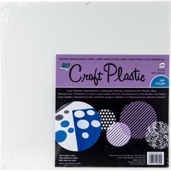"""Grafix Craft Frosted .010 mléčná folie 12""""X12"""" 1ks - 1"""