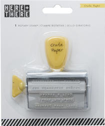Here & There Phrase Roller Stamp - 1