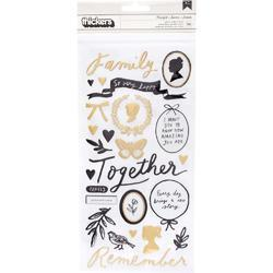 Heritage Thickers Stickers 56/Pkg - 1