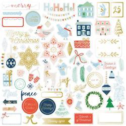 Holiday Vibes Die-Cuts 74/Pkg