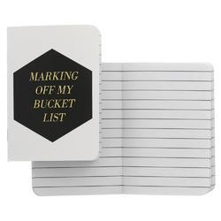 "Jetsetter Passport Notebook 3.5""X5"" Hexagon"