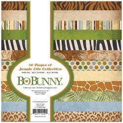"Jungle Life Single-Sided Paper Pad 6""X6"" 36/Pkg - 1"