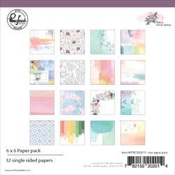 "Just A Little Lovely Single-Sided Paper Pack 6""X6"" 32/Pkg"