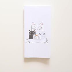 Traveler's notebook – Kočky
