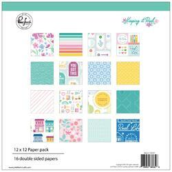 """Keeping It Real Double-Sided Paper Pack 12""""X12"""" 16/Pkg"""