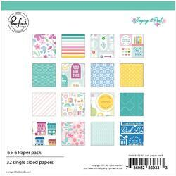 """Keeping It Real Single-Sided Paper Pack 6""""X6"""" 32/Pkg"""