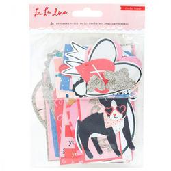 La La Love Ephemera Cardstock Die-Cuts 44/Pkgg - 1