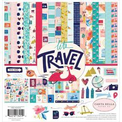 "Let's Travel Collection Kit 12""X12"""