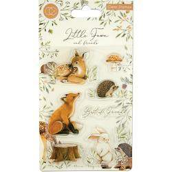 Little Fawns & Friends A5 Clear Stamps - 1
