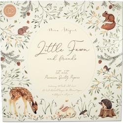 "Little Fawns & Friends Double-Sided Paper Pad 12""X12"" - 1"