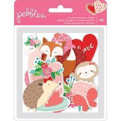 Loves Me Ephemera Icons Cardstock Die-Cuts 40/Pkg