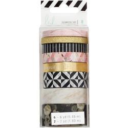 Magnolia Jane Washi Tape Rolls 8/Pkg