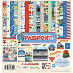 "Passport Collection Kit 12""X12"""