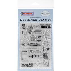 Passport Stamps Get Set Go - 1