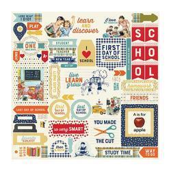 "Scholastic Cardstock Details Stickers 12""X12"""