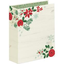 "Sn@p! Merry & Bright Binder 6""X8"" - 1"