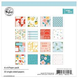 """Some Days Single-Sided Paper Pack 6""""X6"""" 32/Pkg"""