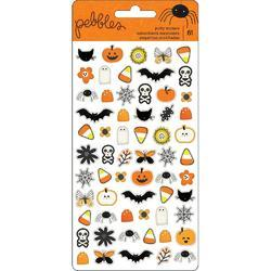 Spooky Boo Puffy Icons Stickers 61/Pkg