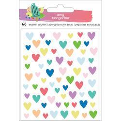 Stay Sweet Epoxy Hearts Stickers 66/Pkg